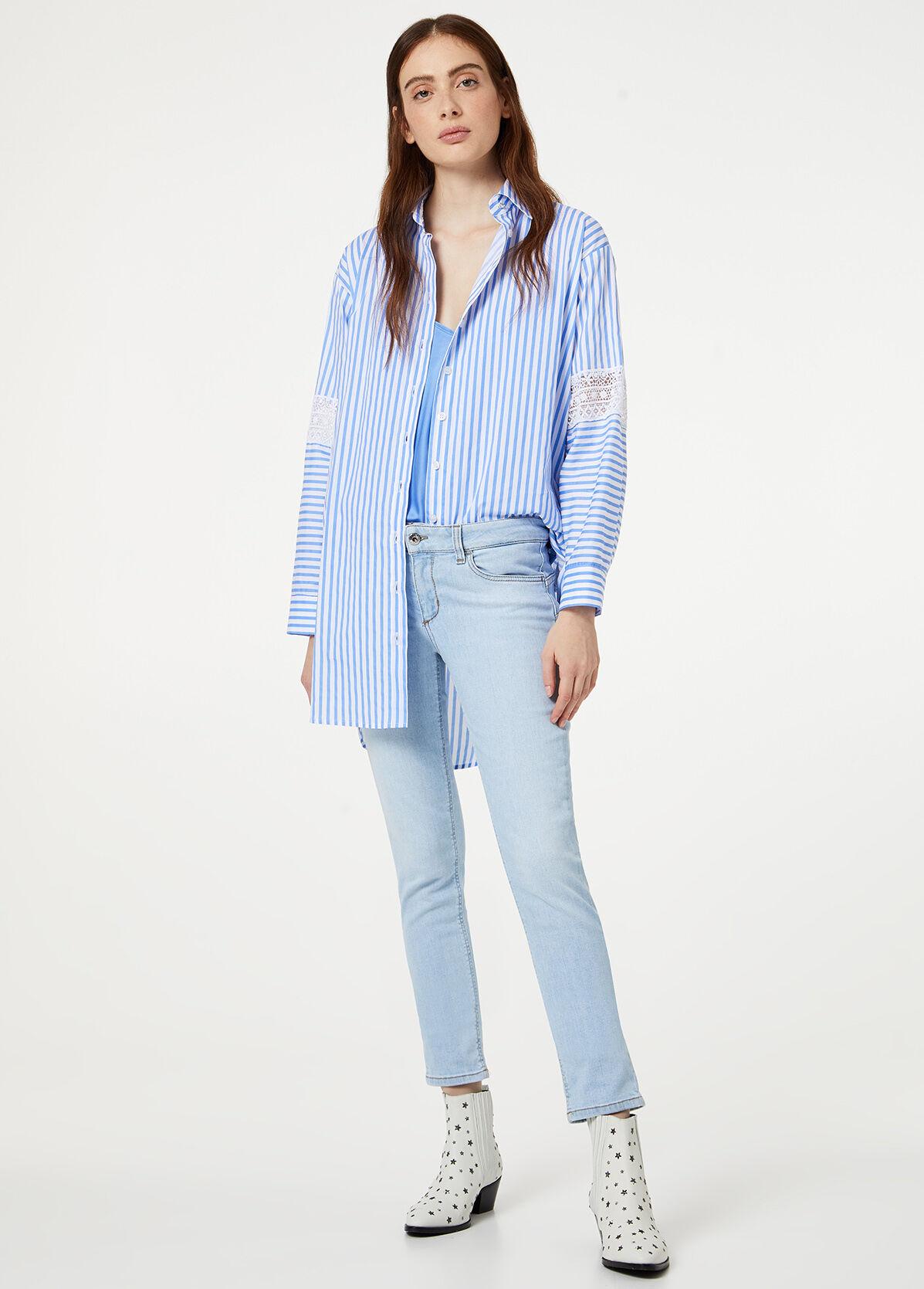 Camicia con stampa tigri LIU JO modello W69018T0110
