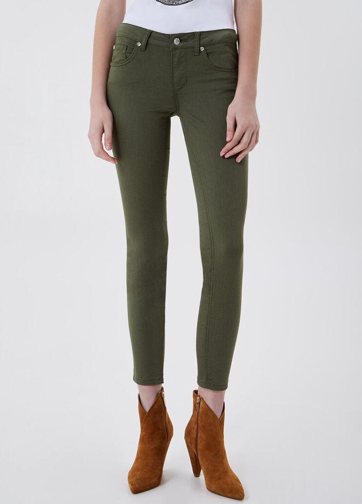 Pantalones De Mujer Elegantes Informales Tobilleros Cortos Liu Jo