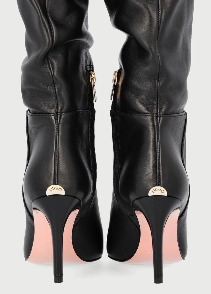 baños semiconductor compensación  Liu Jo Essentials - women's ankle boots and leather pumps | LIU JO