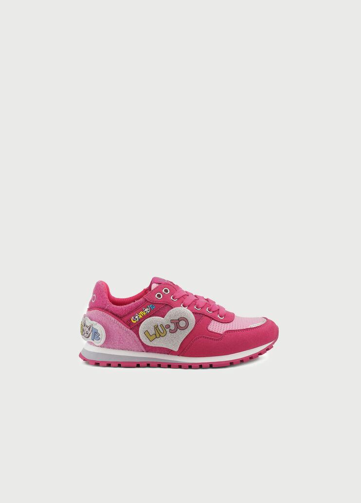 Liu Jo Me Contro Te Bambina Sneaker 4A0805T694851400 Latte Primavera//Estate 2020