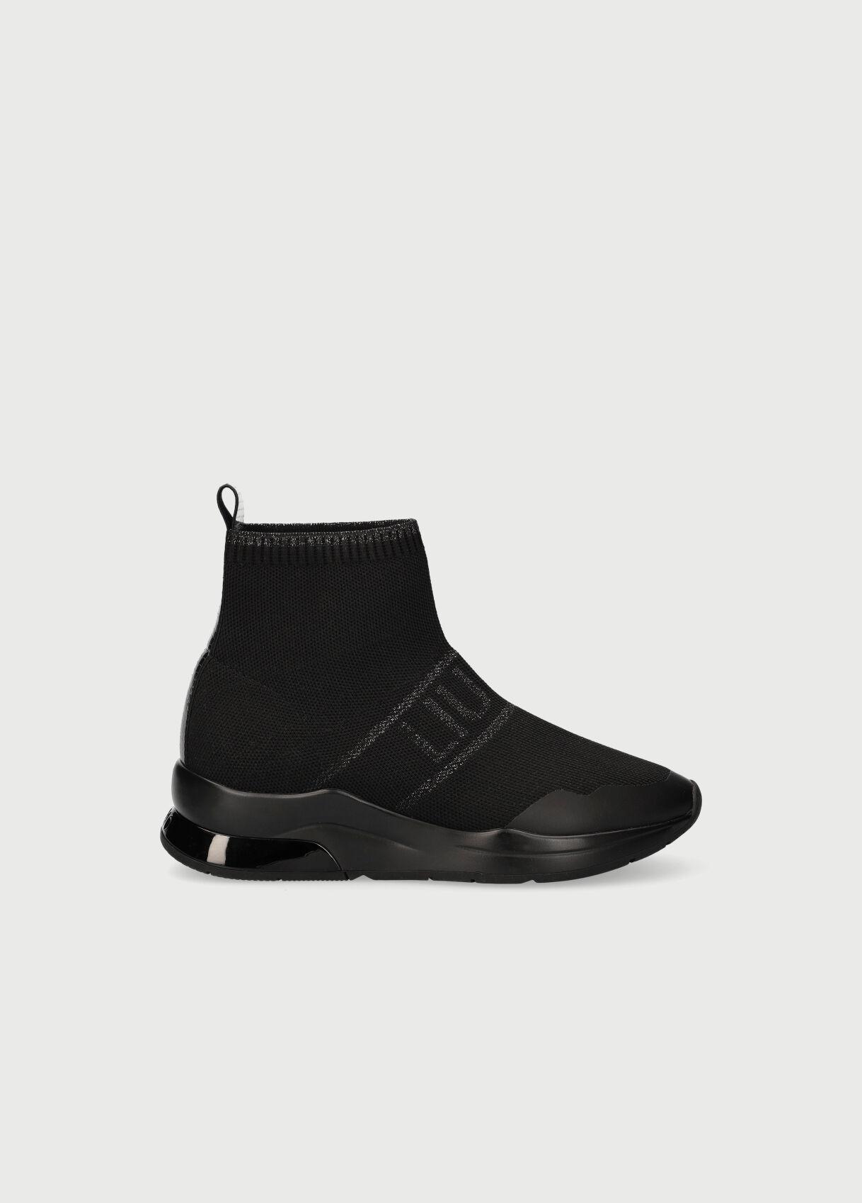 Sock sneakers con logo