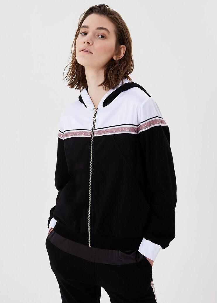 Liu Jo tf0113f0576 22222 Sweatshirt Black-tf0113f0576 22222 Black Hoodie