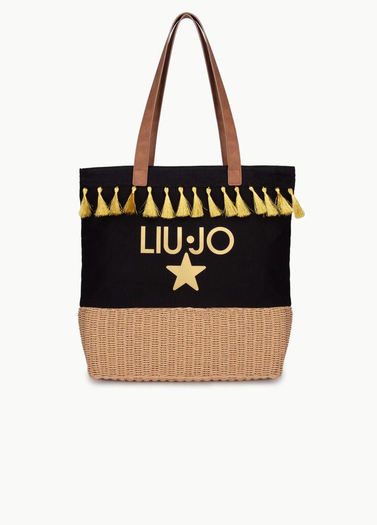 Liu Jo Borse.Beach Bag With Tassels