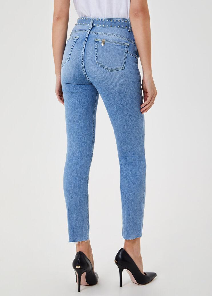 Nublado Pino saludo  Skinny jeans with super high-rise waist