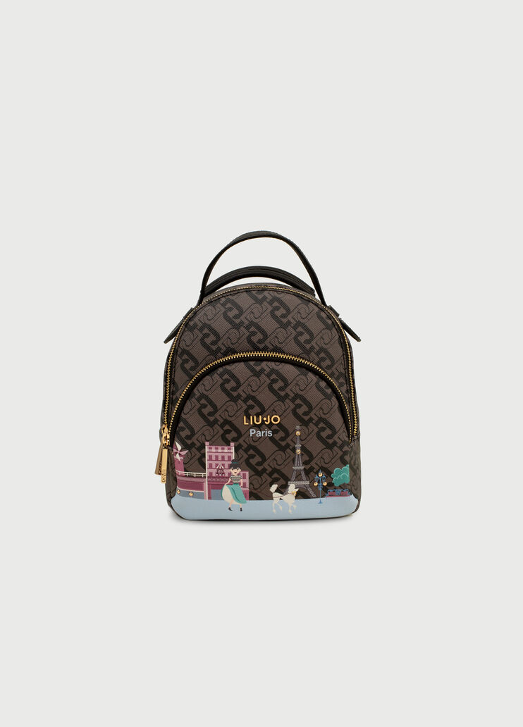 Definición Desnatar Dinkarville  Backpack with city