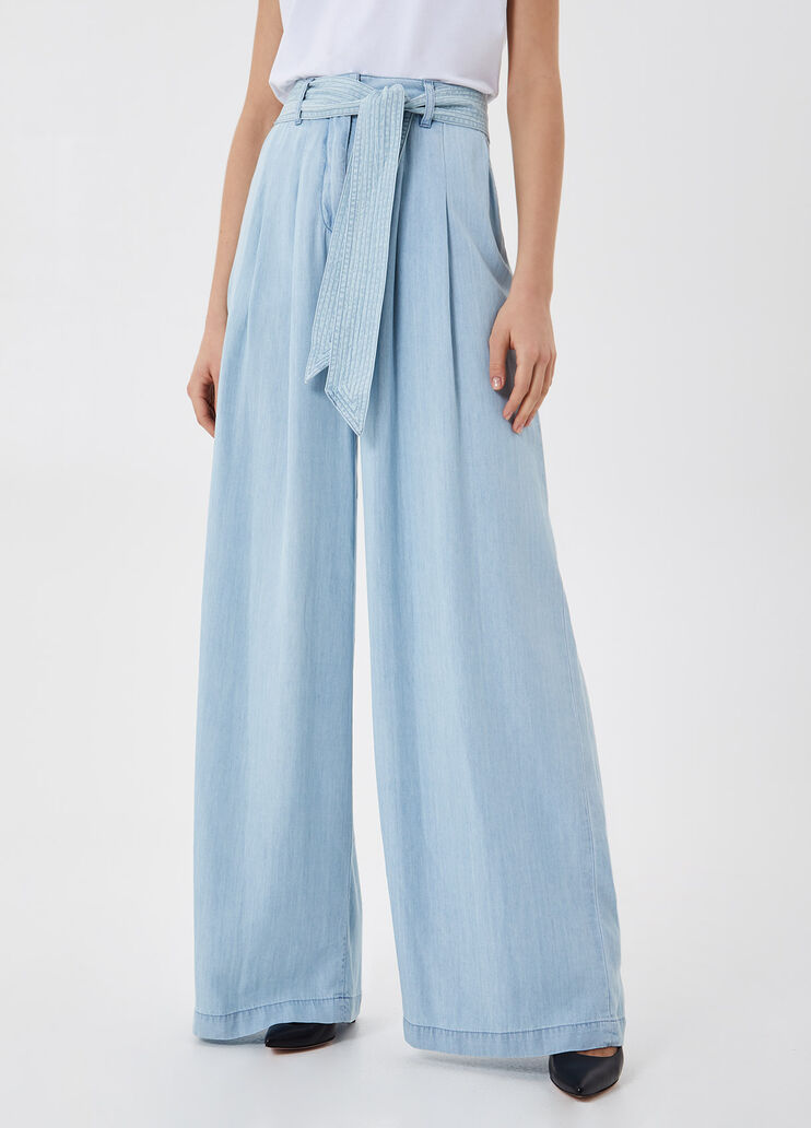 Jeans a palazzo