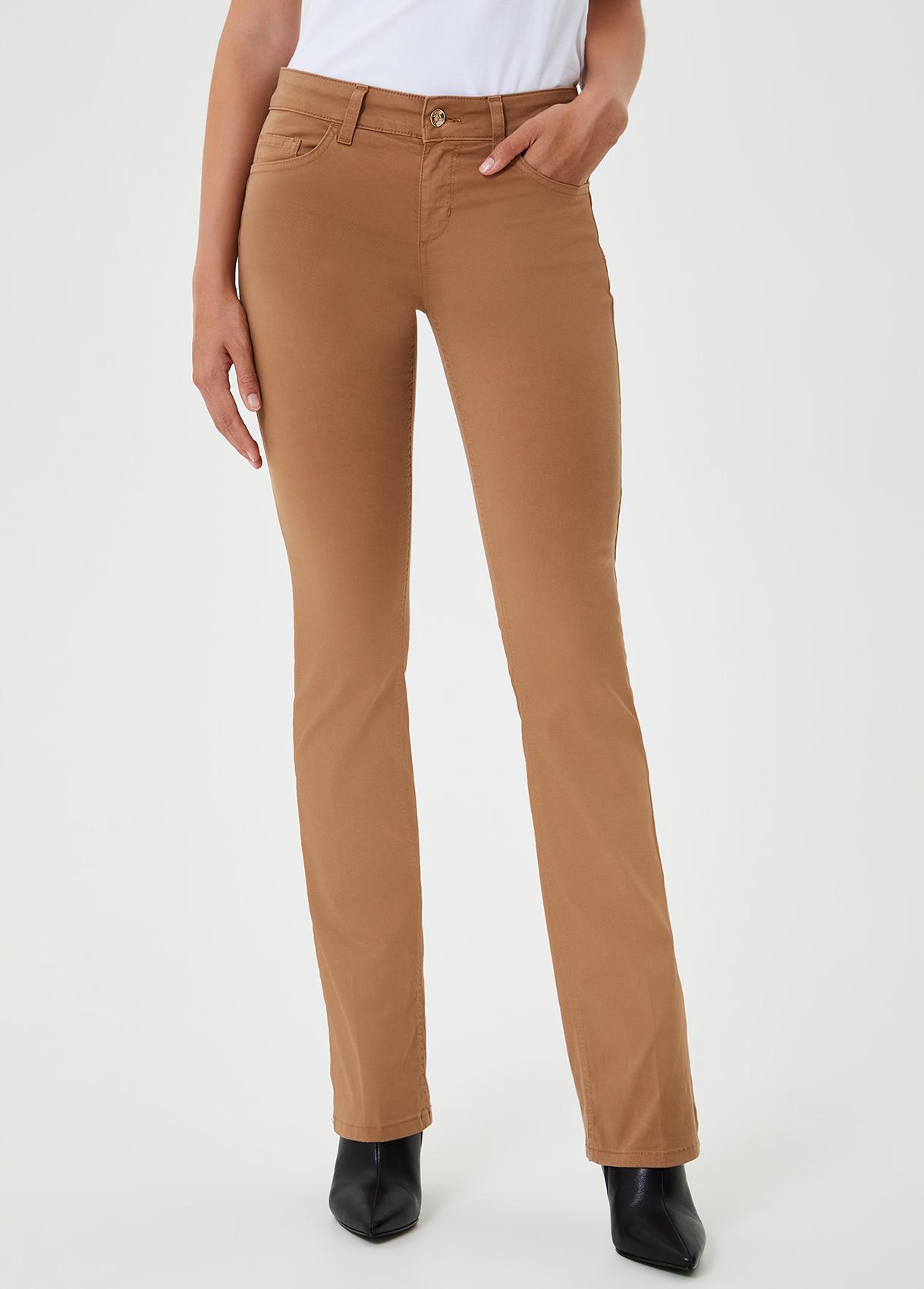 Pantalone bootcut  Marrone Liu Jo - large
