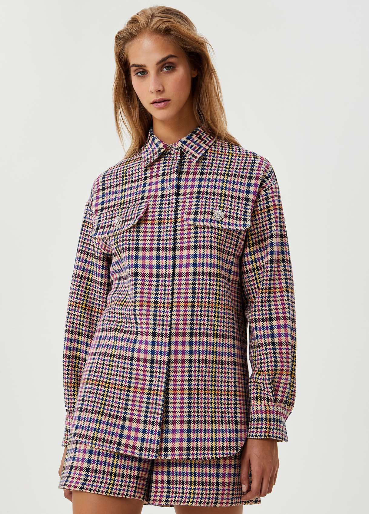 Camicia con bottoni gioiello-T9939-liujo-large