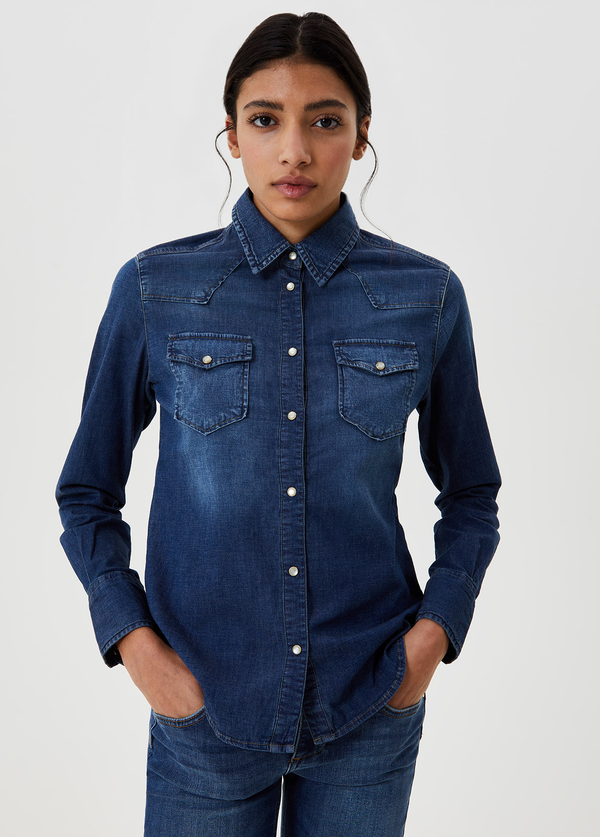 Camicia di jeans -78130-liujo-large