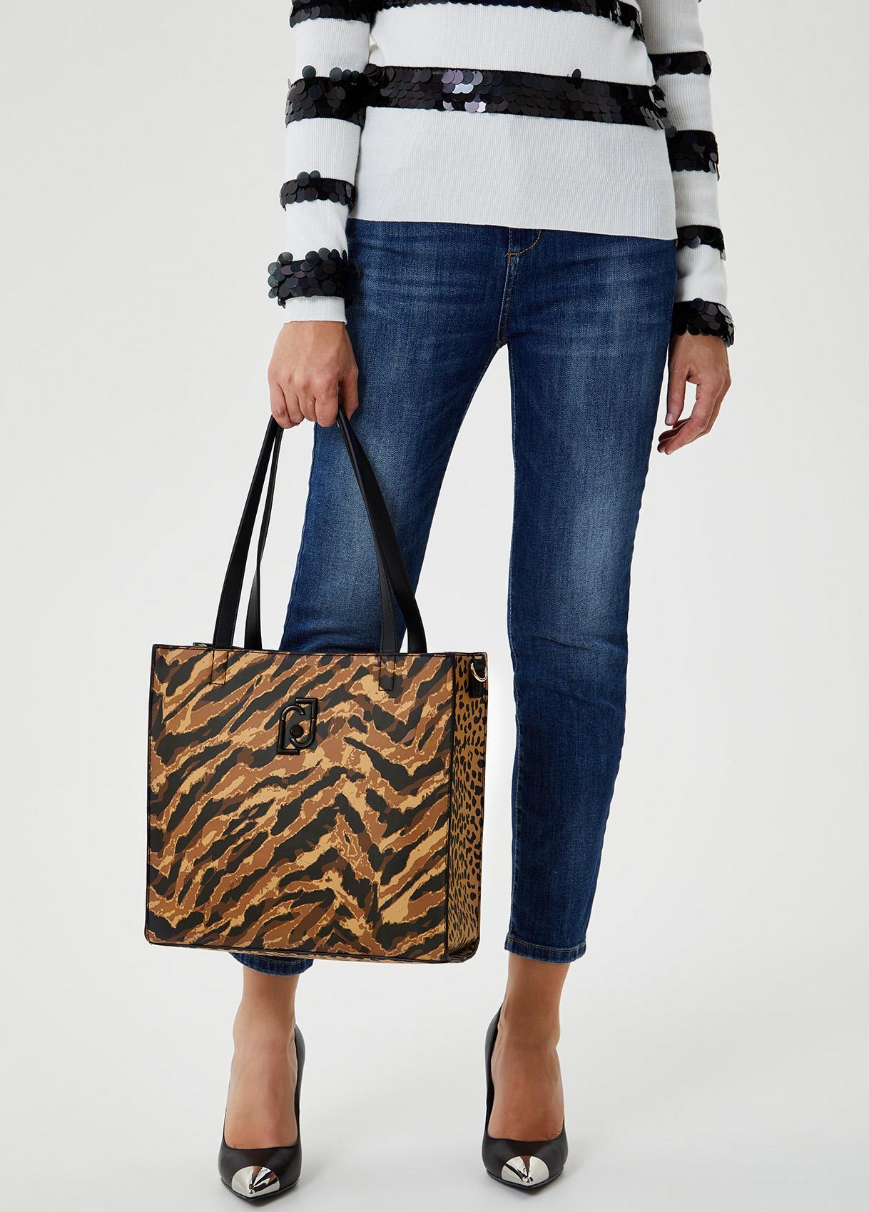 Shopping bag con logo-T9205-liujo-large