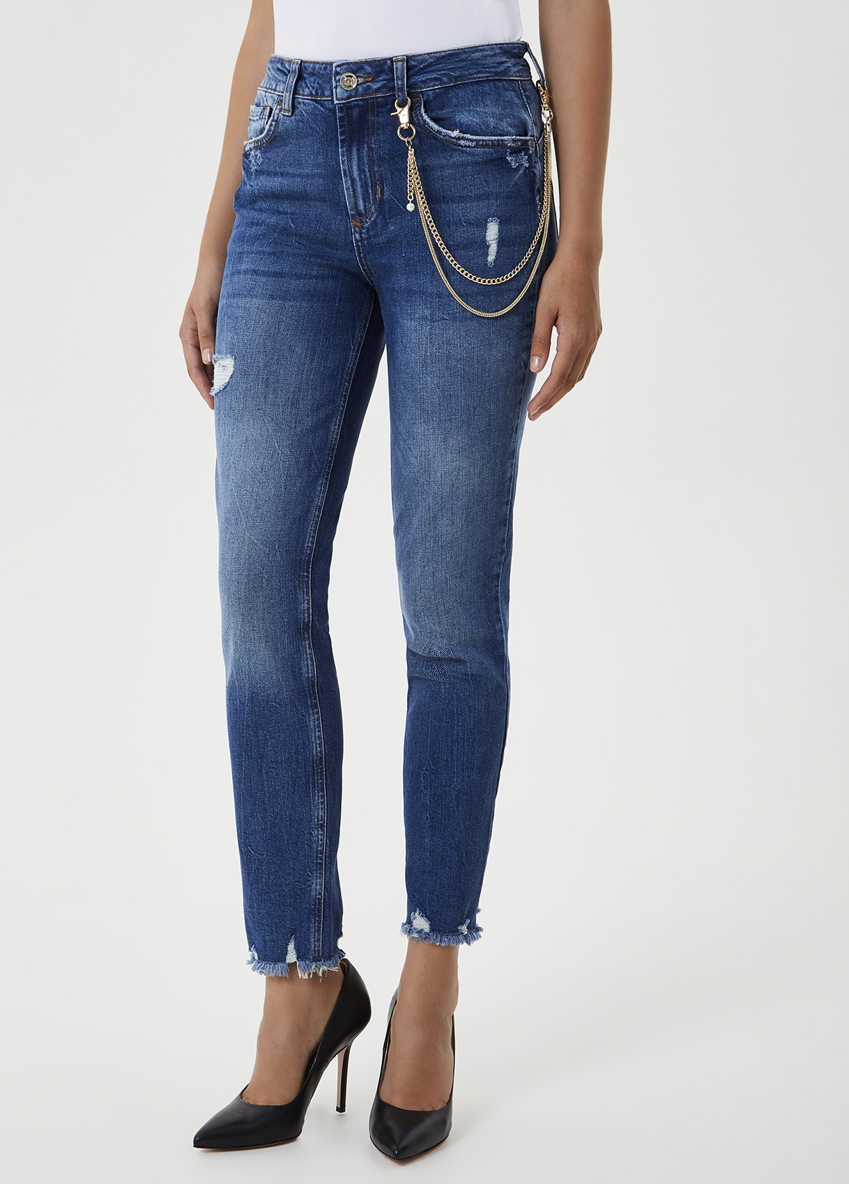 Jeans slim fit con catena-78108-liujo-large