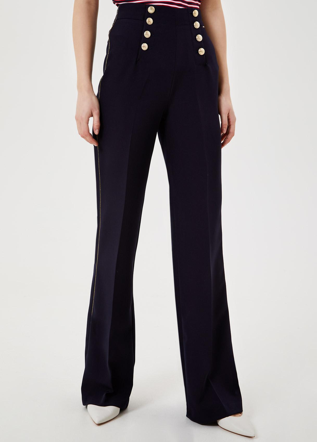 Pantalone mariniére Blu navy Liu Jo - large