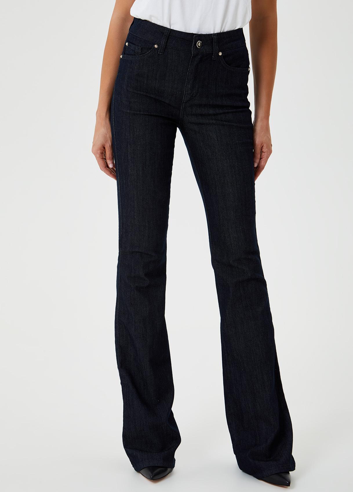 Jeans a zampa a vita alta-77000-liujo-large
