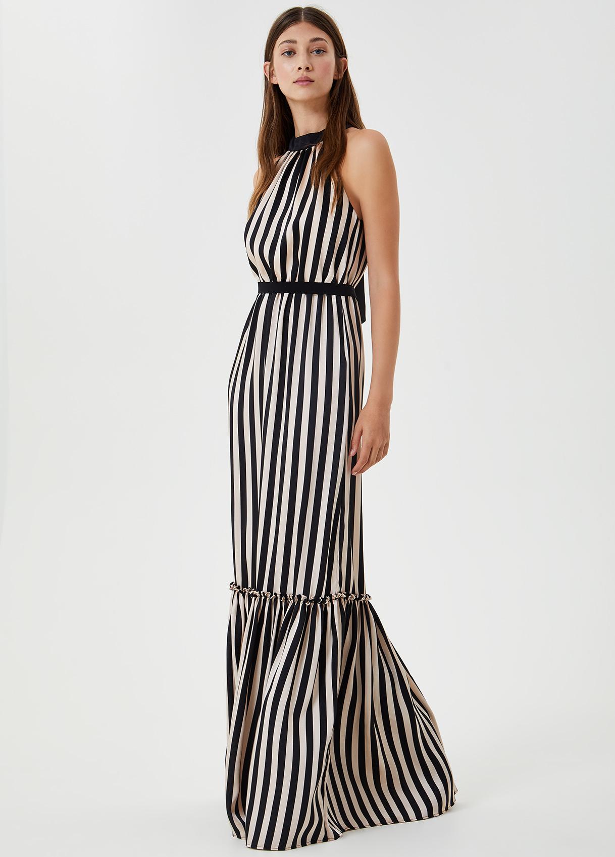Vestito lungo stampato-B3799-liujo-large